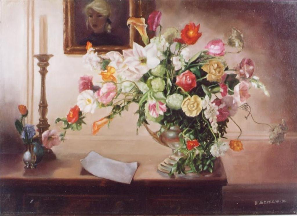 Quadri di fiori e natura for Quadri ad olio con fiori