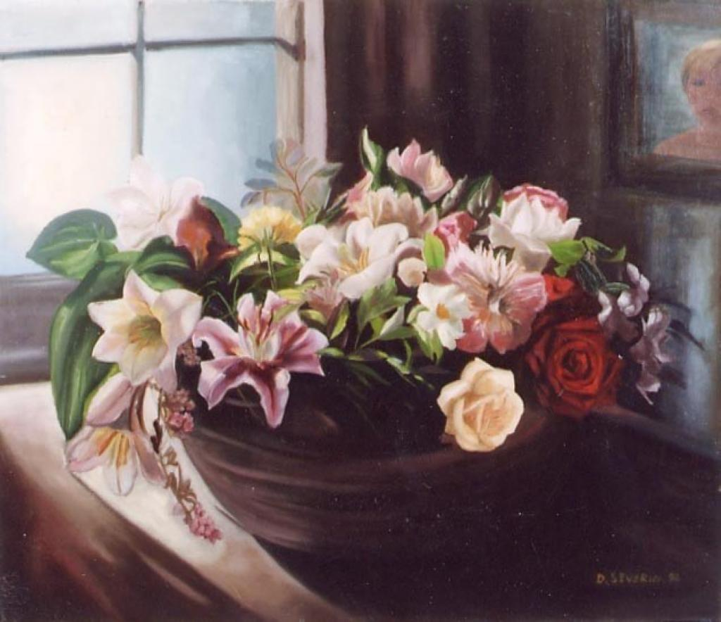 Quadri di fiori e natura for Quadri fiori olio