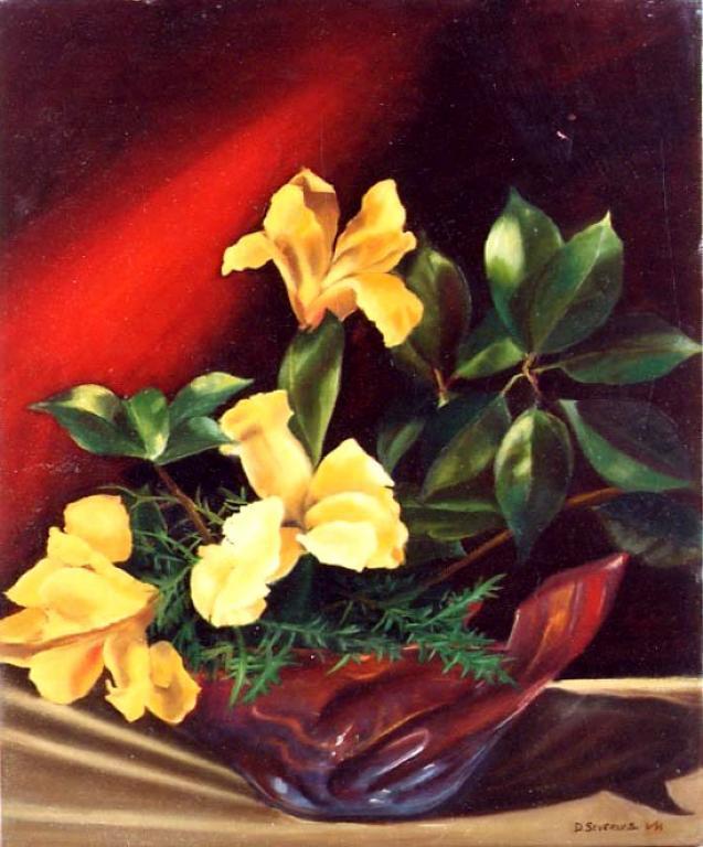 Quadri di fiori e natura for Quadri a olio fiori