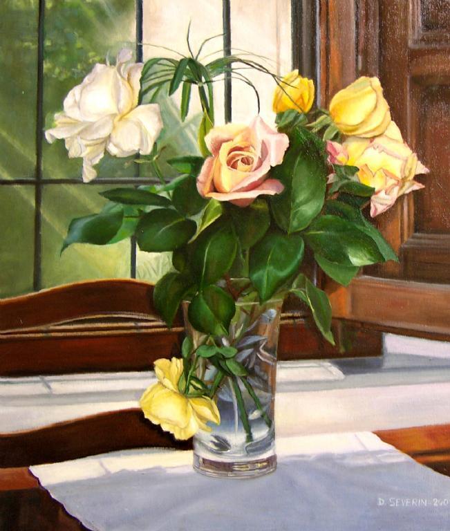 quadri con rose rosse quadri di fiori e natura